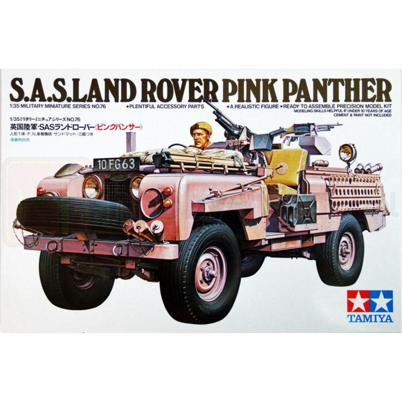 TAMIYA 35076 Pojazd S.A.S. Land Rover Różowa Pantera