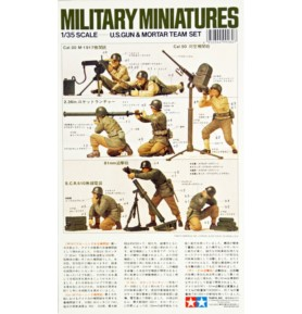 TAMIYA 35086 Figurki Zestaw amerykańskiej piechoty