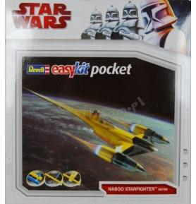 REVELL 06798 Star Wars Naboo Starfighter Easy Kit Pocket