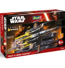 REVELL 06750 Star Wars Poe's X-Wing Fig (zestaw dla dzieci)