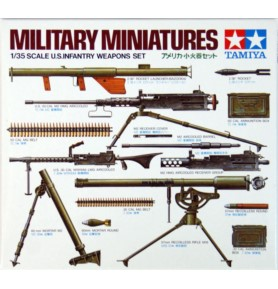 TAMIYA 35121 Akcesoria Zestaw broni amerykańskiej piechoty