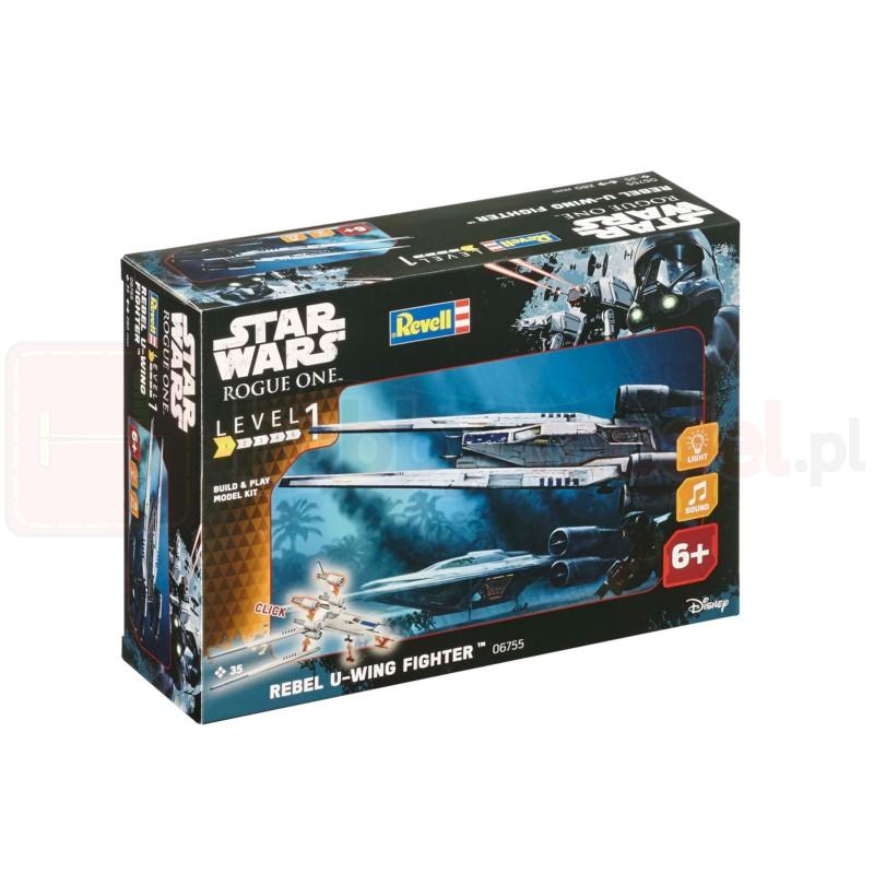 "REVELL 06755 Star Wars Rebel U-Wing Fighter ""B&P"" (zestaw dla dzieci)"