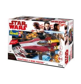 REVELL 06762 Star Wars Resistance A-Wing Fighter, Red (zestaw dla dzieci)