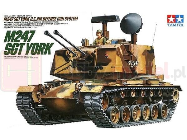TAMIYA 35126 Działo M247 SGT York