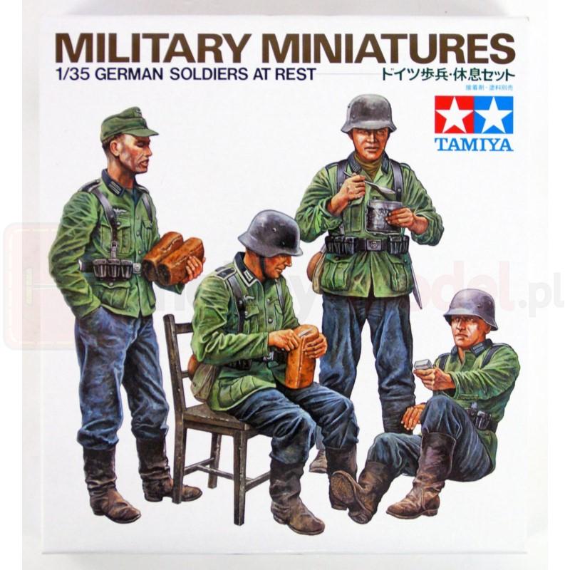 TAMIYA 35129 Figurki Niemieccy żołnierze w odpoczynku