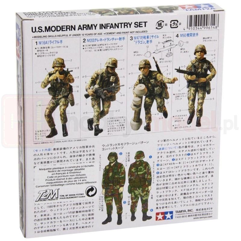 TAMIYA 35133 Figurki Nowoczesna piechota armii