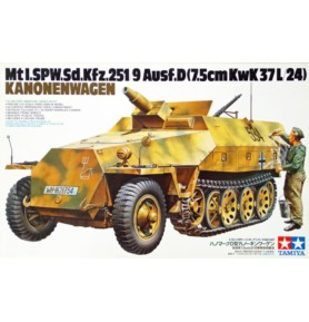 TAMIYA 35147 Transporter Sd.Kfz.251/9 Ausf. D Kanonenwagen