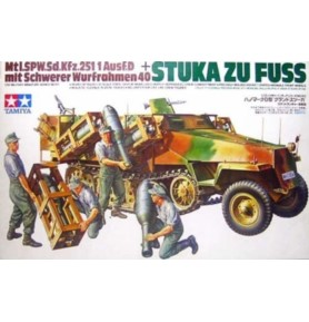 TAMIYA 35151 Transporter Sd.Kfz.251/1 Ausf. D Stuka zu Fuss