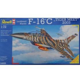 "REVELL 04669 Myśliwiec wielozadaniowy F-16 C Block 52 ""Tiger meet"" 2003"