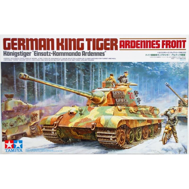 TAMIYA 35252 Czołg King Tiger Front Ardenów
