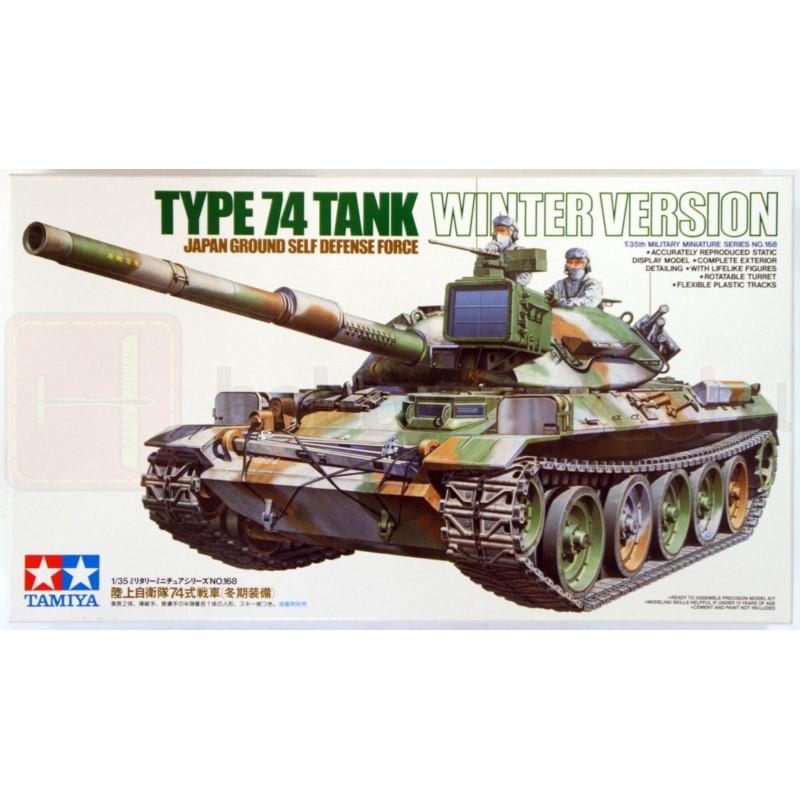 TAMIYA 35168 Czołg Typ 74 Wersja zimowa