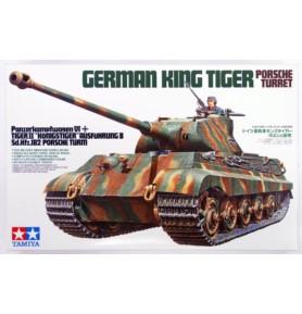 TAMIYA 35169 Czołg King Tiger Porsche Turret