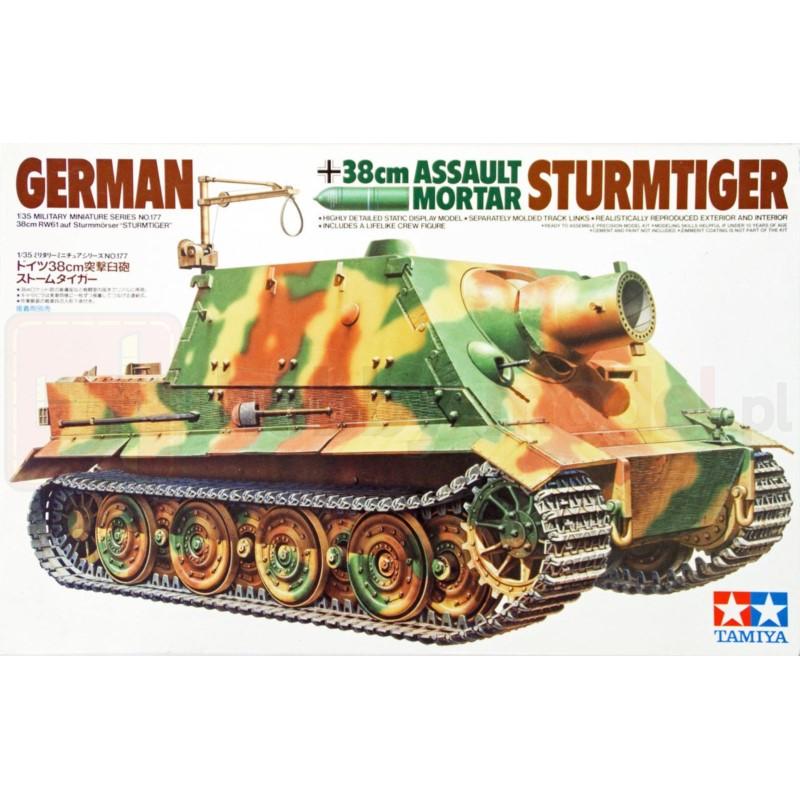 TAMIYA 35177 Działo Sturmtiger 38cm