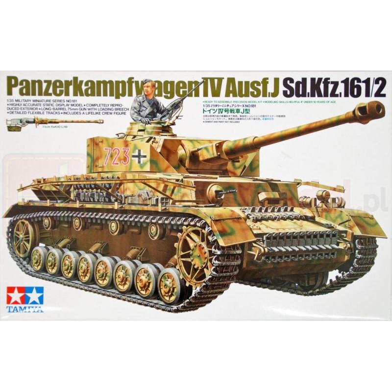 TAMIYA 35181 Czołg Panzerkampfwagen IV Ausf. J