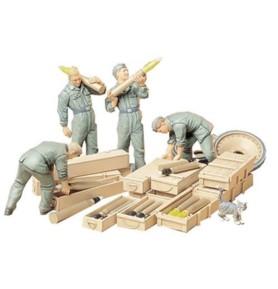 TAMIYA 35188 Figurki Niemiecka załoga amunicji czołgowej