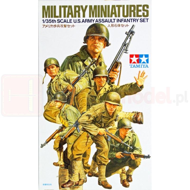 TAMIYA 35192 Figurki Atakująca piechota amerykańska