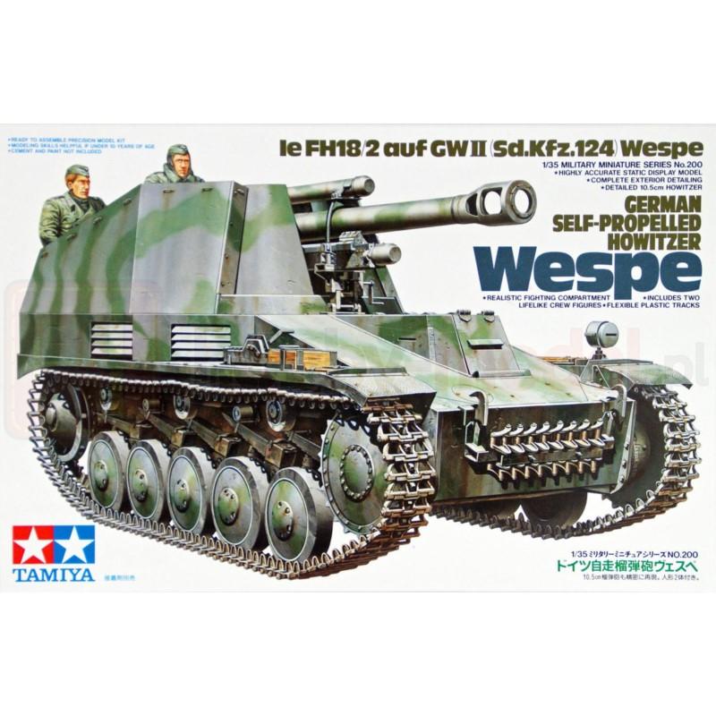 TAMIYA 35200 Niemiecka samobieżna haubica Wespe