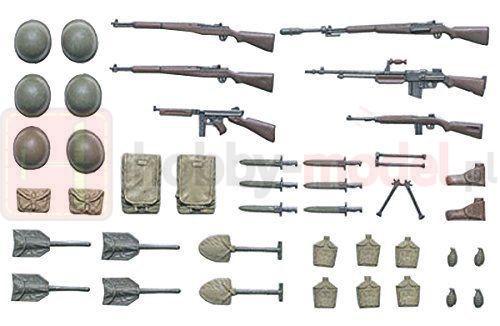 TAMIYA 35206 Akcesoria Zestaw sprzętu piechoty amerykańskiej