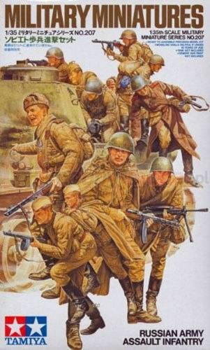 TAMIYA 35207 Figurki Piechota rosyjskiej armii
