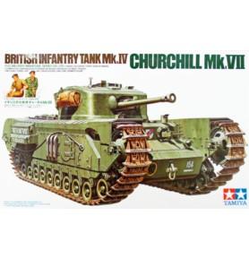 TAMIYA 35210 Czołg Churchill Mk.VII