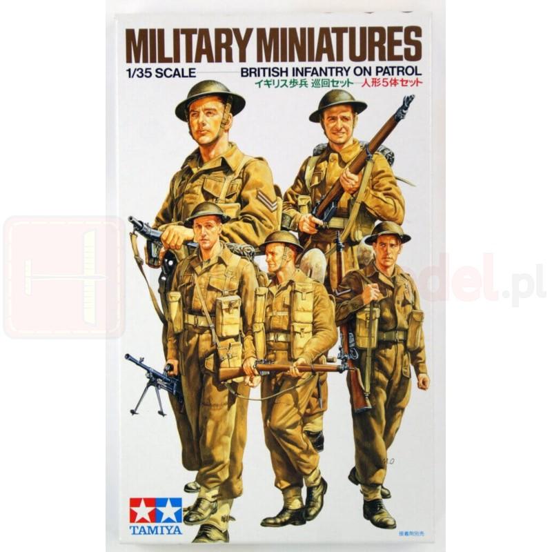 TAMIYA 35223 Figurki Brytyjska piechota na patrolu