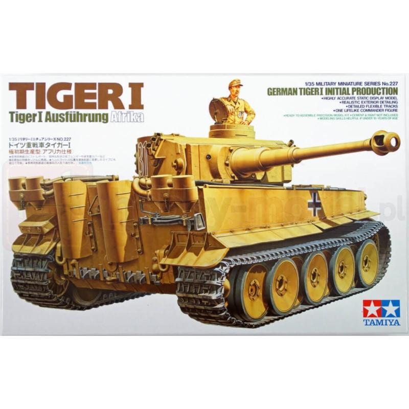 TAMIYA 35227 Czołg Tiger I Produkcja początkowa
