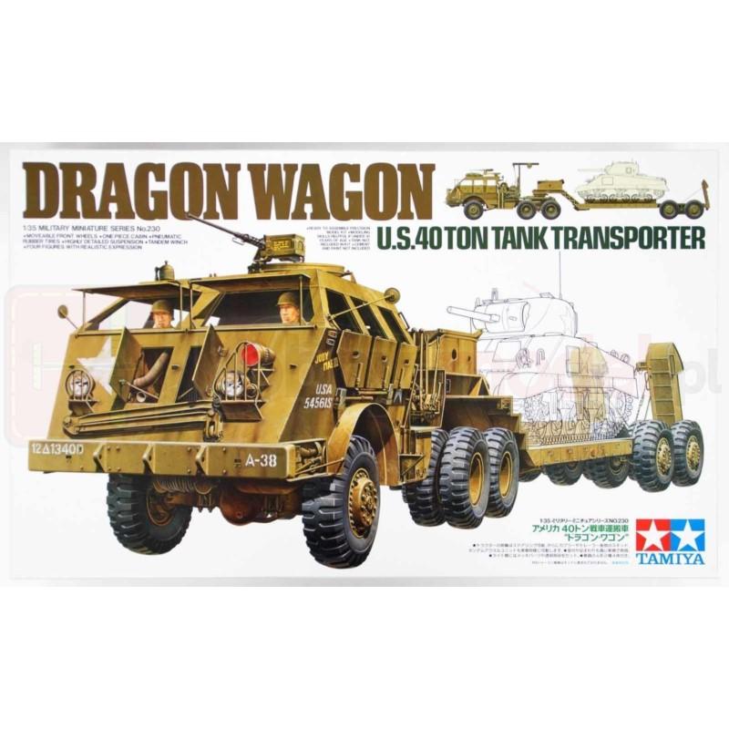 TAMIYA 35230 Pojazd Dragon Wagon Transporter czołgów