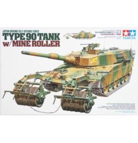 TAMIYA 35236 Czołg Typ 90 z wałkami minowymi