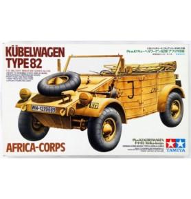 TAMIYA 35238 Pojazd Kubelwagen Typ 82 Africa Corps