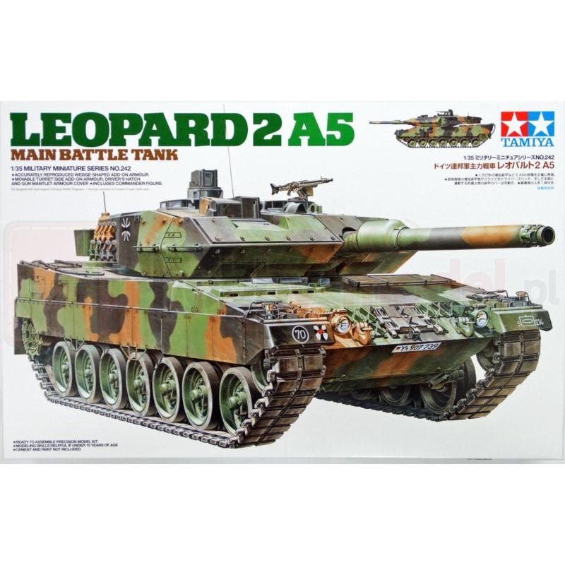 TAMIYA 35242 Leopard 2 A5 Główny czołg bojowy
