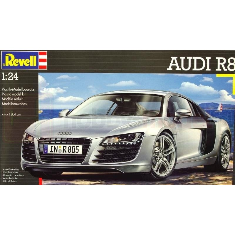 REVELL 07398 Samochód sportowy Audi R8