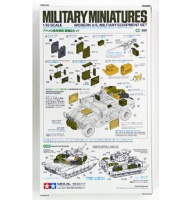 TAMIYA 35266 Akcesoria Nowoczesny zestaw sprzętu wojskowego USA