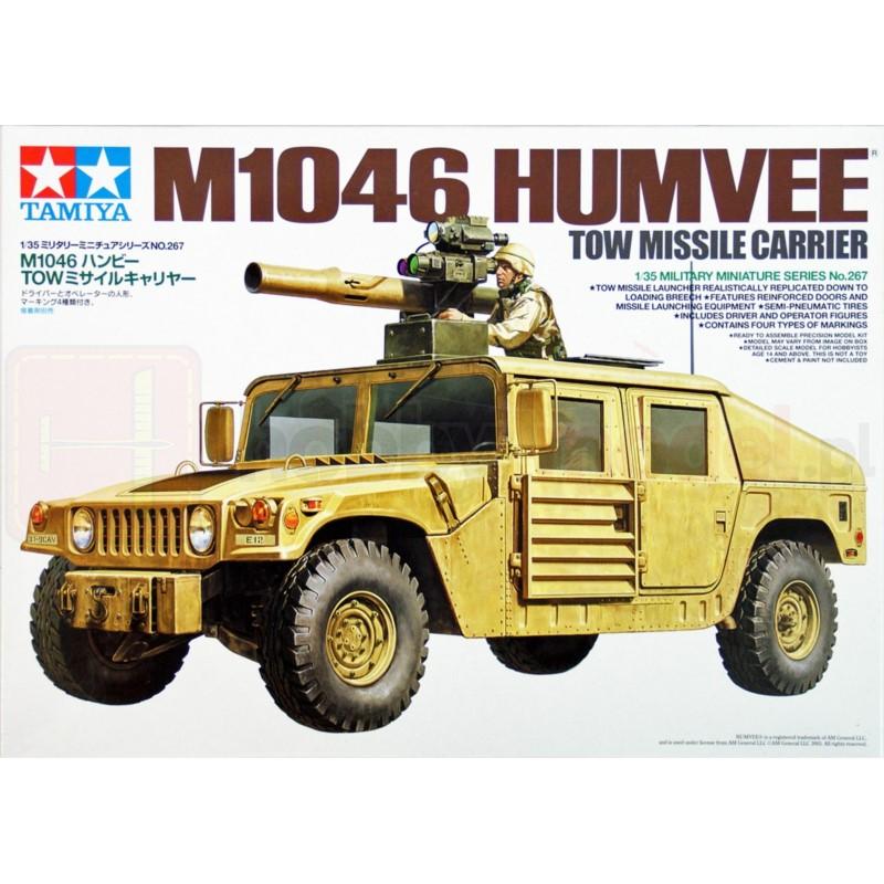 TAMIYA 35267 Pojazd M1046 Humvee z wyrzutnią pocisków