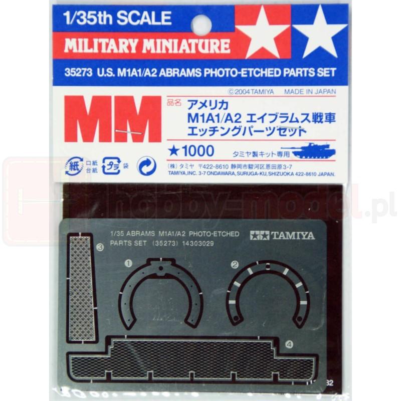 TAMIYA 35273 Akcesoria M1A1/A2 Abrams Tekstury siatki