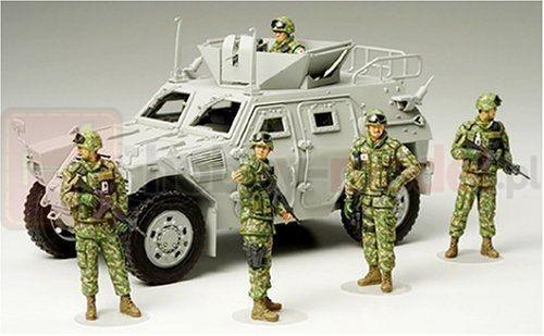 TAMIYA 35276 Figurki JGSDF Zespół pomocy humanitarnej