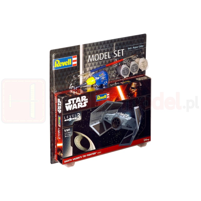REVELL 63602 Star Wars Darth Vaders'S Tie Fighter (zestaw)