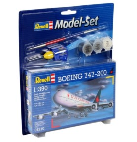 REVELL 64210 Samolot pasażerski Boeing 747 (zestaw)