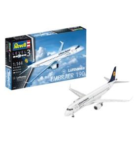 REVELL 03937 Samolot pasażerski Embraer 190 Lufthanza