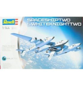 REVELL 04842 Space Ship Two & Carrier White Knight