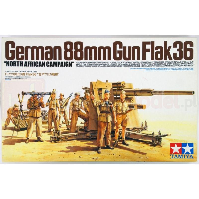 TAMIYA 35283 Działo 88 mm Gun Flak 36