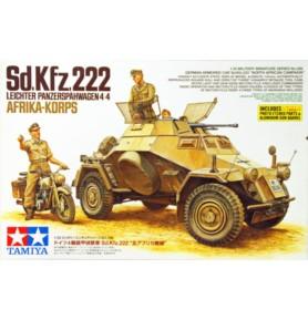 TAMIYA 35286 Wóz Sd.Kfz.222 Leichter Panzerspahwagen