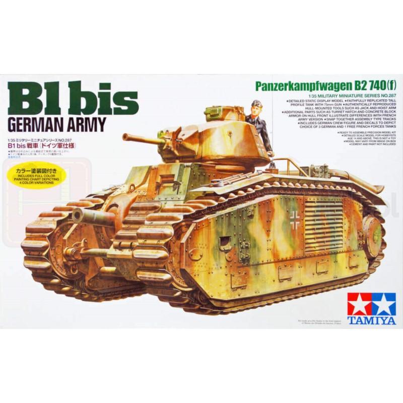 TAMIYA 35287 Czołg B1 bis Niemiecka Armia