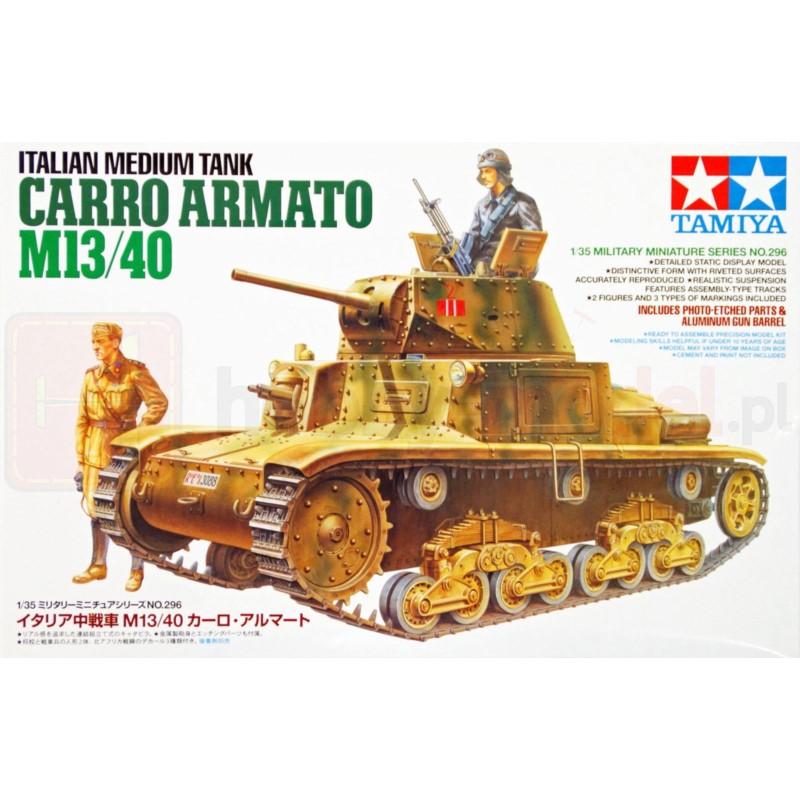 TAMIYA 35296 Czołg Carro Armato M13/40