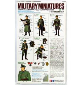 TAMIYA 35298 Figurki Zestaw niemiecich dowódców polowych