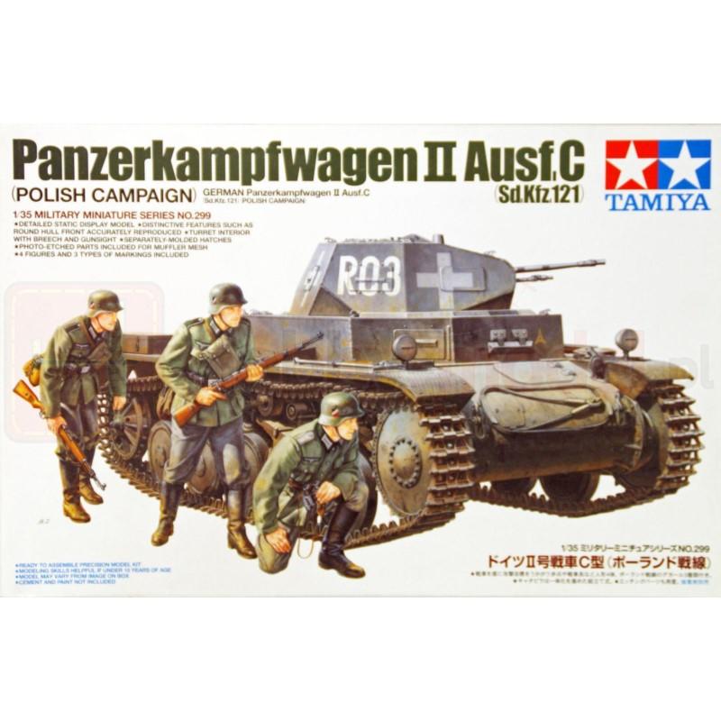 TAMIYA 35299 Czołg PzKpfw II Ausf. C (Sd.Kfz.121)