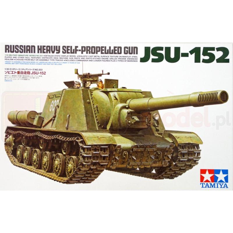 TAMIYA 35303 Działo SP Gun JSU-152