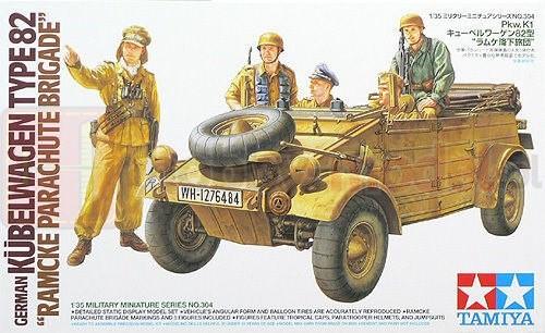 TAMIYA 35304 Pojazd Kubelwagen Typ 82