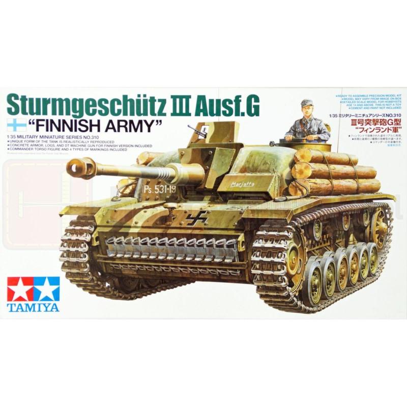 TAMIYA 35310 Działo Sturmgeschutz III Ausf. G