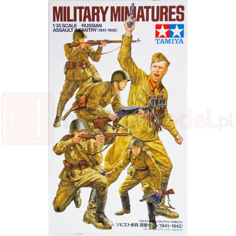 TAMIYA 35311 Figurki Rosyjska piechota szturmowa 1941-1942