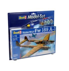 REVELL 64294 Samolot rozpoznawczy FW-189 A-1 (zestaw)